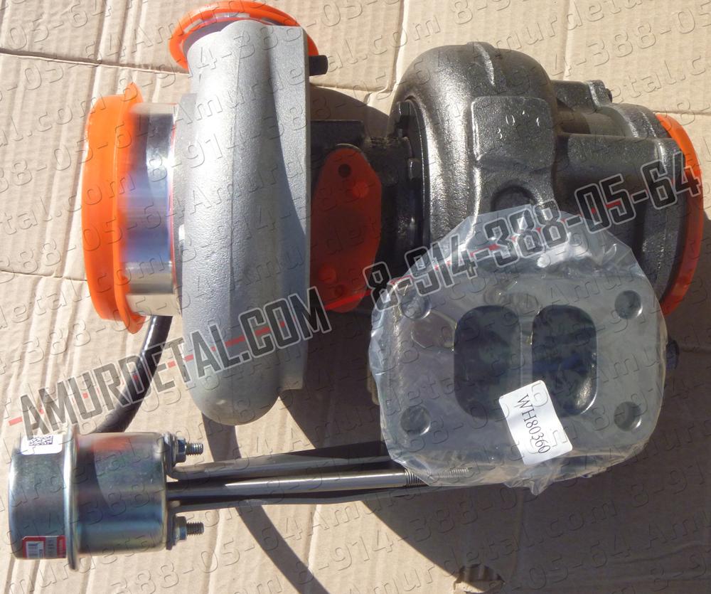 Турбокомпрессор HX40W 340-375 л.с. Евро-3 4045570, 4045054, 4045055, 4033024, 4955900