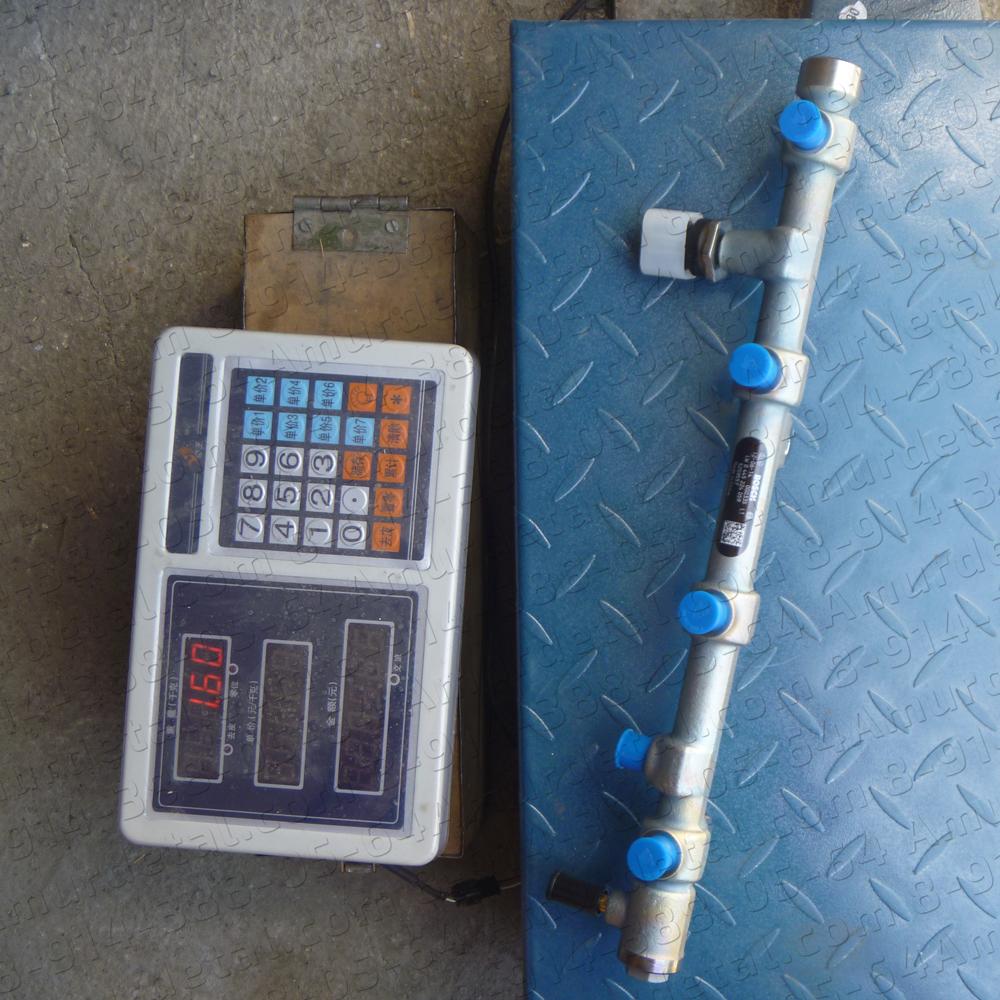 Рампа (рейка) топливная двигателя Cummins ISF 2.8 5259557 Газель-Бизнес Камминз