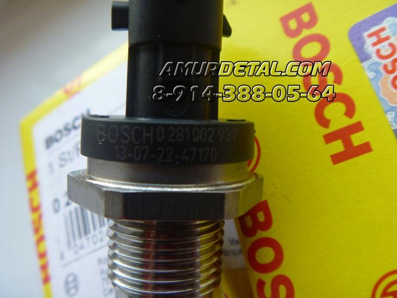 Датчик на топливную рампу Cummins 5260245, 0 281 002 937, 0281006364, 0233106