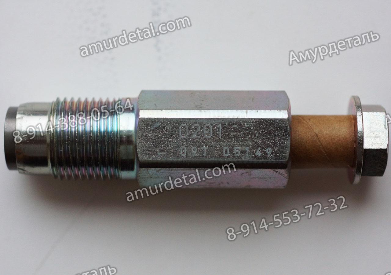 Клапан топливной рампы 0201 Denso газель евро4 Cummins isf 3.8, Hyundai HD 72 Hyundai HD 78 095438-0190