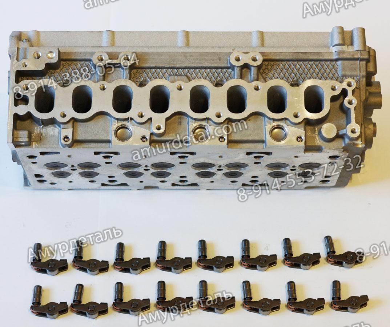 Головка блока цилиндров Great Wall Hover H5 4D20 дизель (голая) в сборе с послелью крепления распредвалов 1003101-ED01 (1003100ED01)